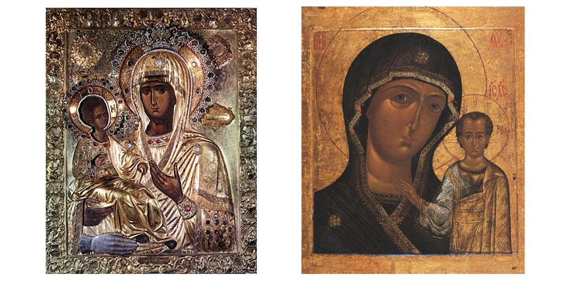 Продать икону Божией Матери
