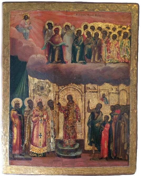 Московские старинные иконы