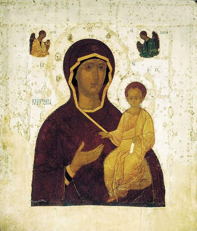 Смоленская икона Божией Матери оценить, продать старинную икону в Киеве