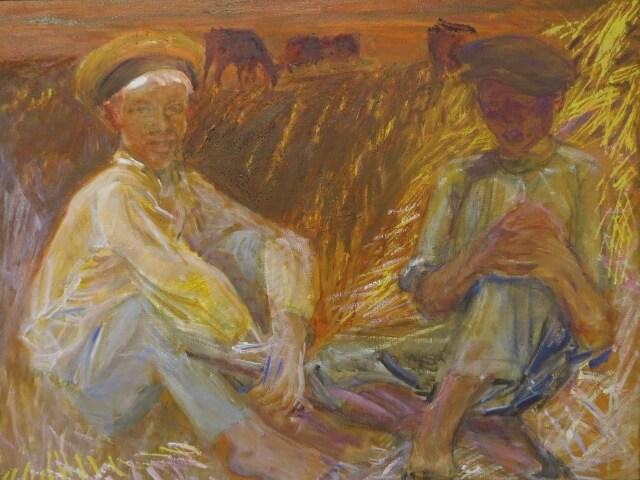 Кому продать картину восьмидесятых годов?