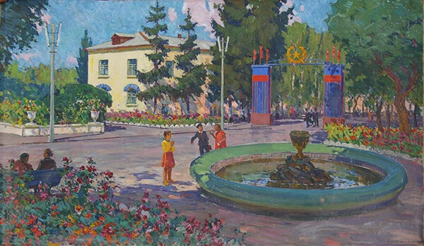 Картины Шкурко продать, оценить, скупка