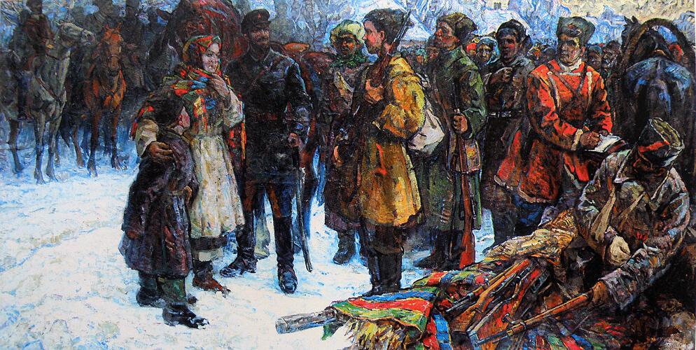 Художник Мордовец, оценить, продать картины