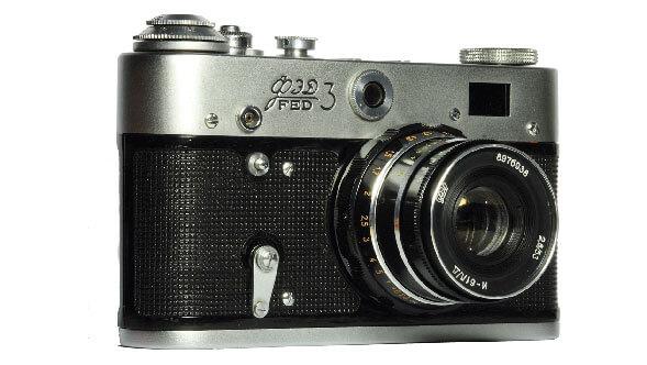 советский фотоаппарат ФЭД