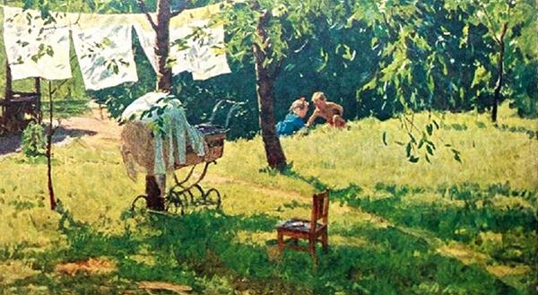 Картины Яблонской продать, оценка, скупка