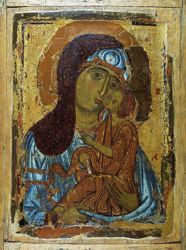 Старинная икона Умиление продать в Киеве, Харькове, Одессе