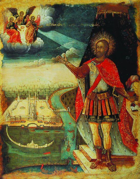 Старинная икона Александр Невский продать в Киеве, Харькове, Одессе
