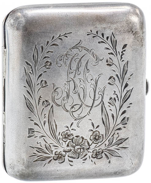 продать серебряный портсигар в Киеве